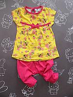 Детский летний костюм Малышка для девочки на 18-24 месяца