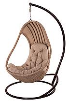"""Підвісне крісло з ротанга """"Komfort Lux""""."""