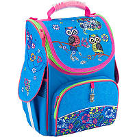 Рюкзак каркасный, ортопедический, школьный Kite Pretty owls K18-501S-6