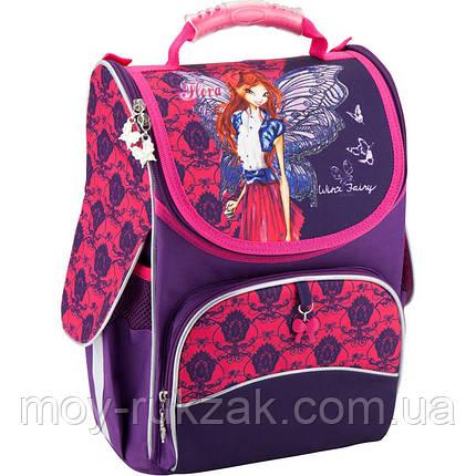 Рюкзак каркасный, ортопедический, школьный Kite Winx Fairy couture W18-501S, фото 2