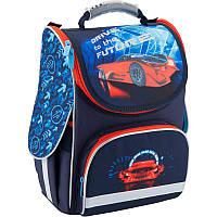 Рюкзак каркасный, ортопедический, школьный Kite Super car K18-501S-5