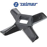 Нож для мясорубки Zelmer NR8 (ОРИГИНАЛ) Односторонний 86.3107 755469 (ZMMA018X)