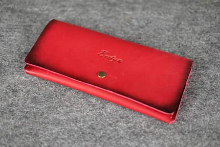 Женский клатч «Баттерфляй» |10373| Италия Красный
