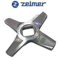 Нож для мясорубки Zelmer NR8 (ОРИГИНАЛ) Двухсторонний 86.3109 632543 (ZMMA128X)