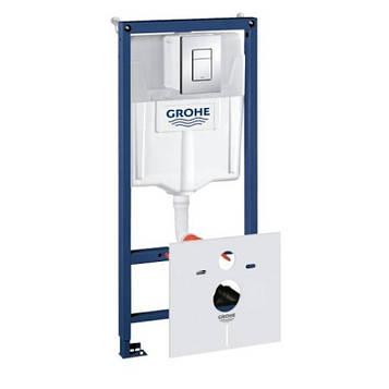Grohe Rapid SL 38772001 Инсталяционный комплект 3 в 1 (с кнопкой 38732000)