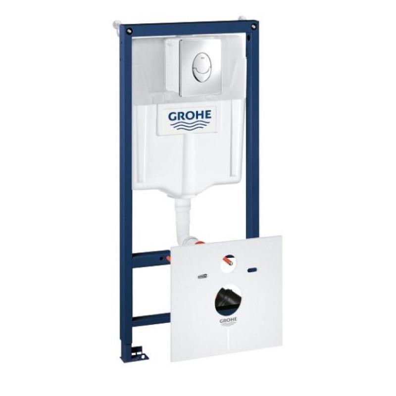 Grohe Rapid SL 38721001 Инсталяционный комплект 3 в 1 (с кнопкой 38505000)