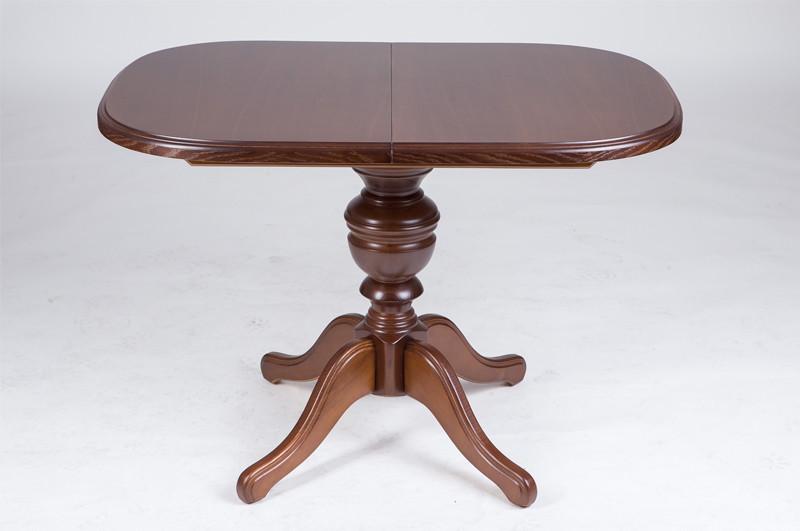 Купити Розкладний стіл Тріумф 105см (горіх світлий) у Львові.