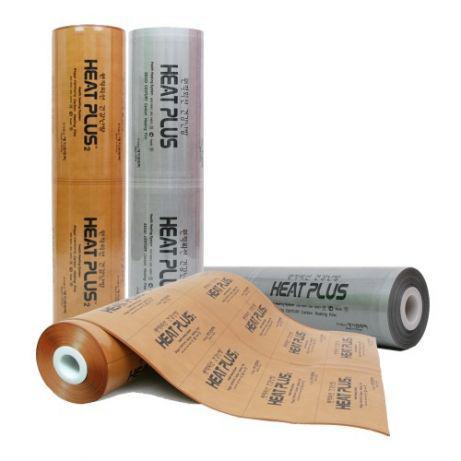 Инфракрасная пленка Heat Plus Premium APN 410-220 (220Вт/м2, 1м, 40-50°С) gold