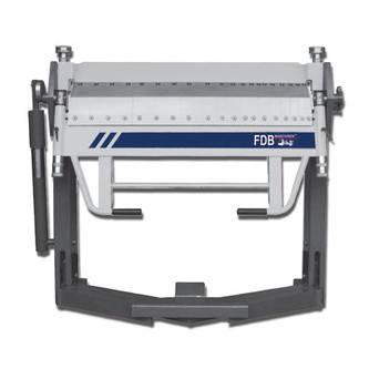 Листозгини сегментні SBP 1250, ESF 1260 В, ESF 2060 FDB Maschinen, фото 2