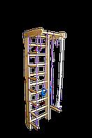 "Шведская стенка ""Спорт 2-220""  с турником  и веревочным набором (ширина стенки 70см) ТМ TopTop спорт 2-220"