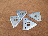 420100046 Сегмент ножа жатки комбайна John Deere, Deutz Fahr, фото 1