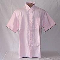 Тенниска мужская St. Michael нежно-розовая р.46-48-50, воротник 39-40 см б/у