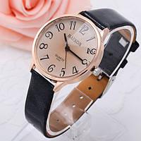 Женские стильные винтажные часы Relogio Черные