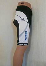 Велошорты лого Santini с памперсом (как XL), фото 3