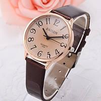 Женские стильные винтажные часы Relogio Коричневые