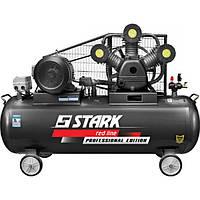 Компрессор Stark 10500-SAWB Prof ременнойi (7,5 кВт, 1000 л/мин, 500 л)
