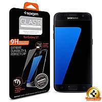 Защитное стекло Spigen для Samsung S7 (555GL20002)