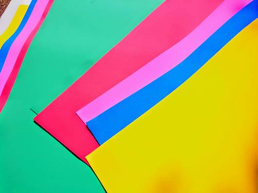 Материал EVA 3075 (вспененный этиленвинилацетат, ЭВА, фоамиран, фоам) цветной, листовой 2мм.
