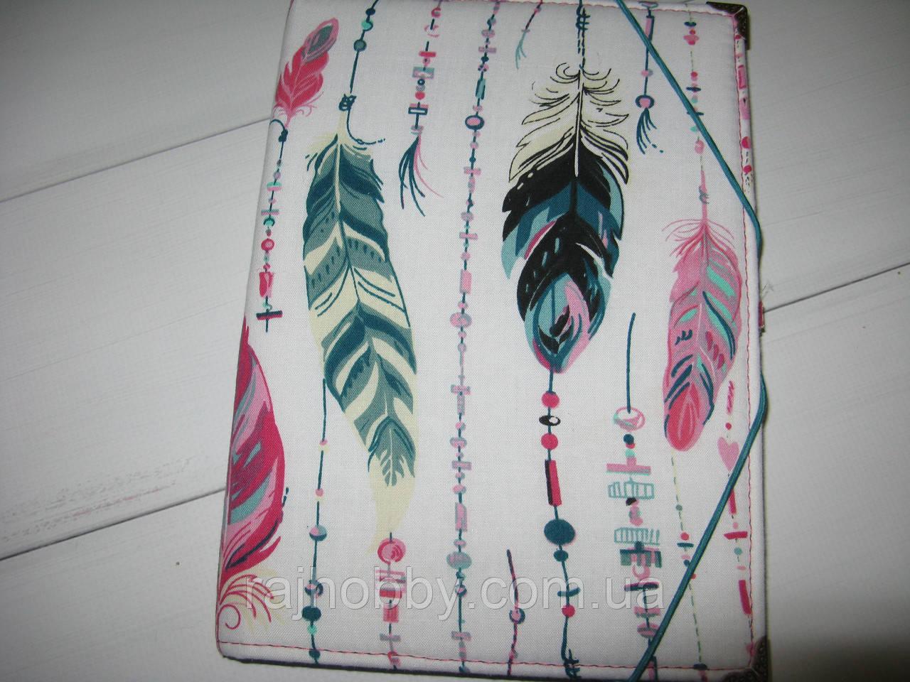 Блокнот скетчбук планер А5 Перышки
