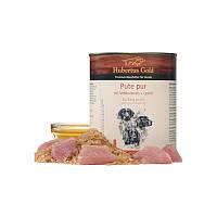 Консервований корм для собак. Hubertus Gold. Індичка з рисом і лляною олією