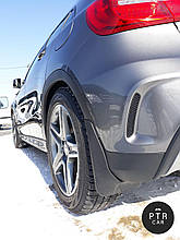 Брызговики Mercedes-Benz GLK 204 (без порогов не AMG) 2009- (кт 4-шт)