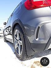 Брызговики Mercedes-Benz GLK300 (с порогами) 2008-2012 (кт 4-шт)