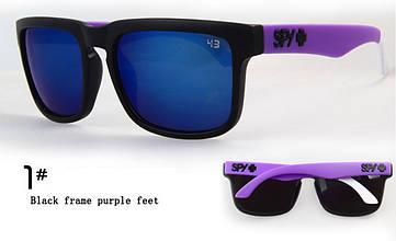 Солнцезащитные очки Spy+ Helm Ken Block + ПОДАРОК - твердый фирменный чехол ! 400, №1, Унисекс, Китай