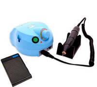 Фрезер для маникюра, комбинированного педикюра Escort 2 Pro голубой, 40 000 об/мин с реостатной педалью
