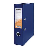 Папка-регистратор одностор. PP 7,5 см, собранная, син Delta
