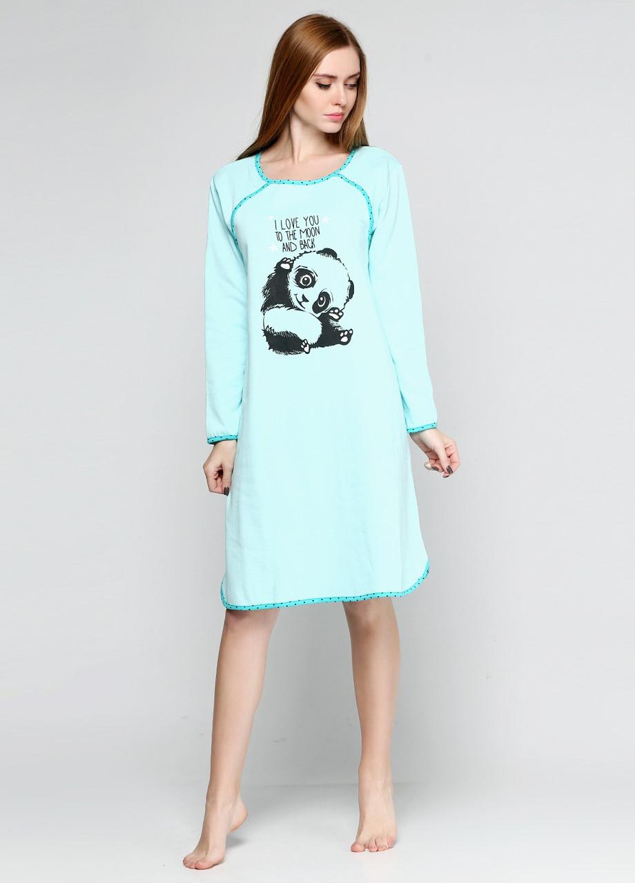 8edc8a98187824d Ночная рубашка из трикотажа от производителя Панда модели в размерах от 48  до 56 , купить