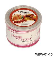 Сахарный воск для эпиляции, 500 г. Персик, Lady Victory LDV WBW-01-10 /5-2