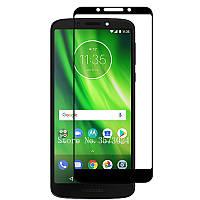 Защитное стекло с рамкой для Motorola Moto G6 Play