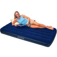 Односпальный надувной матрас  Intex 76х191х22см