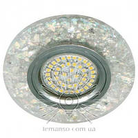 Светильник точечный LEMANSO ST155 прозрачный MR16 50W 12V G5.3 + подсветка 3W 4000K