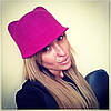 """Модная женская шляпа - кепка """"Ушки"""""""