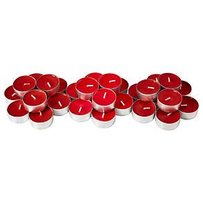 СИНЛИГ Свеча греющая ароматическая, сладкие ягоды, красный, 40236360, IKEA, ИКЕА, SINNLIG, фото 2