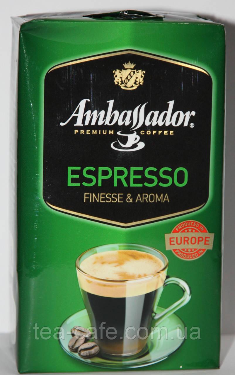 Кофе молотый Ambassador Espresso Finesse&Aroma 450 гр.