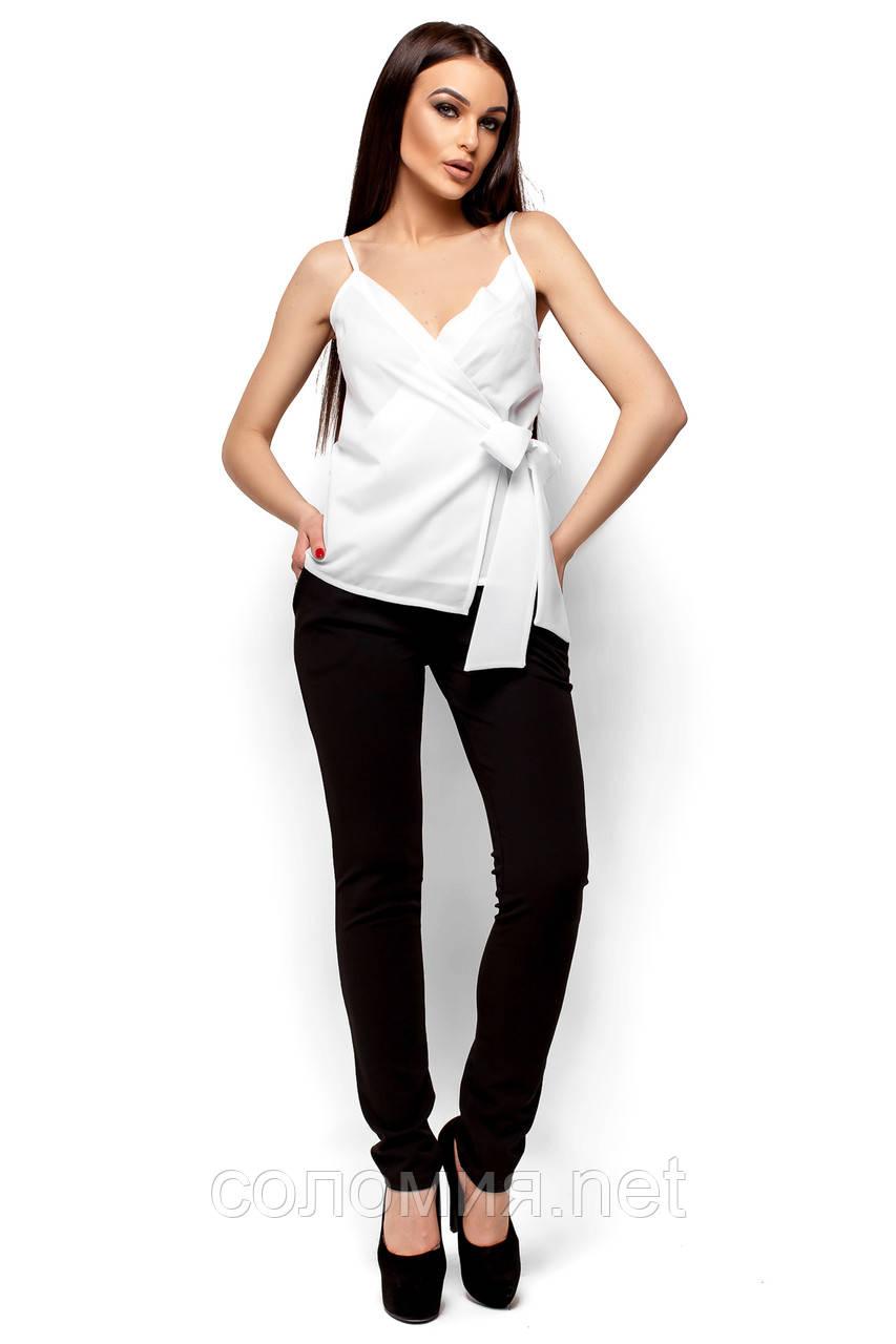 c68c88a3a68 Очаровательная блуза на тонких бретелях с глубоким декольте 42-48р ...
