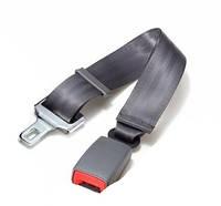 Удлинитель ремня безопасности в автомобиль. Регулируемая длина до 80 см. Три цвета Серый