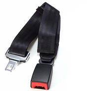 Удлинитель ремня безопасности в автомобиль. Регулируемая длина до 80 см. Три цвета Черный