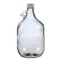 Стеклянная бутылка с гравировкой (5л)