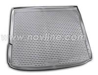 Полиуретановый ковер в багажник BMW X6 с 2009- без адаптивной крепёжной системы груза/ цвет:черный