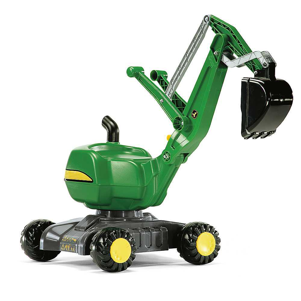 Экскаватор Rolly Toys 421022. Машинка для детей