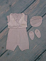 Торжественный наряд для мальчика (ажур), фото 1