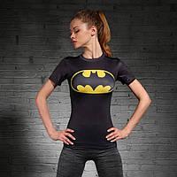 Женская футболка для фитнеса Бэтмен