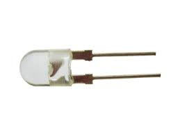 Светодиод 8 мм (20°-30°) , 120 мА (mA) белый