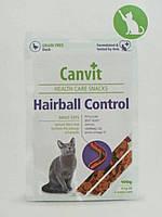 Canvit Hairball Control (Канвит Хейрболл Контрол) полувлажное функциональное лакомство для кошек 100 г