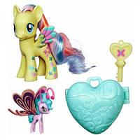 My Little Pony Флаттершай та Сі Брізі (Fluttershy & Sea Breezie, Куклы пони Флатершай и Си Бризи)