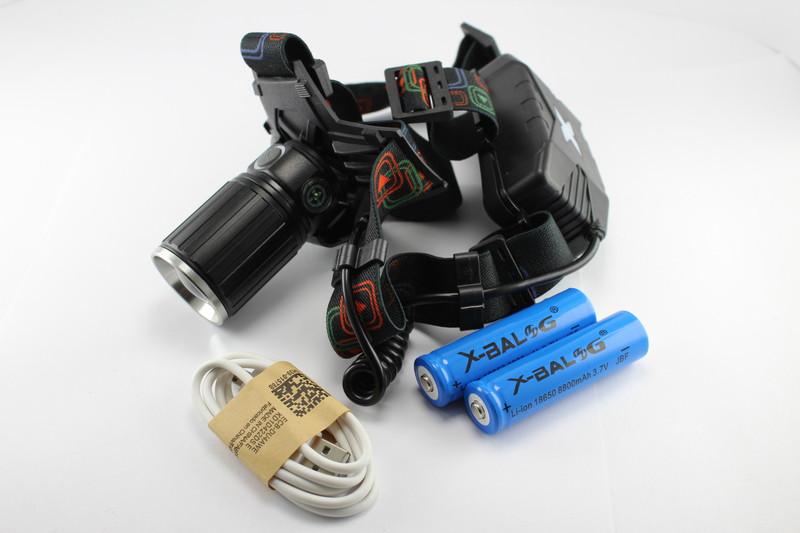 Налобний ліхтарик XBL W615-T6
