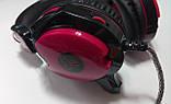 Наушники с микрофоном и регулятором громкости Fantech Shaco HG5 Black/Red (HG5), фото 4